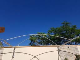 Estrutura de ferro para sombrite