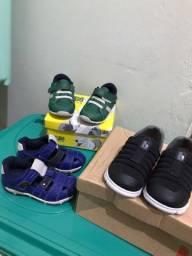 Calçados para crianças