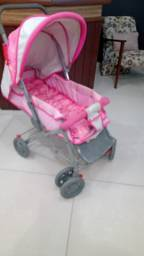 Vendo carrinho de bebê e cadeira para carro