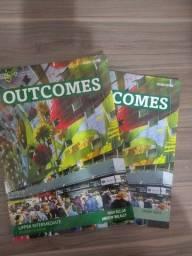 Dois livros Outcomes National Geographic