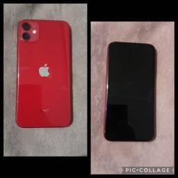 iPhone 11 Red- 128GB com 3 meses de uso