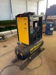 Compressor parafuso metalplan 10 Hp