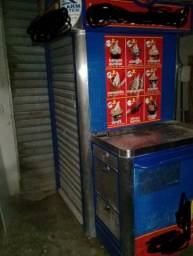 Kiosque de inox para sorvete ou chaveiro