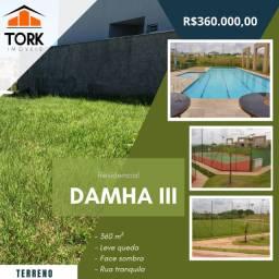 Título do anúncio: Damha III terreno a venda, 360 m²