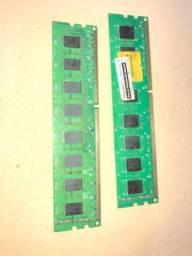 Duas memórias Ram ddr3 4GB