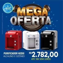 Purificadores Água Alcalina + Ozonio. R$ 154,55/mes