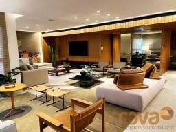 Apartamento à venda com 4 dormitórios em Setor marista, Goiânia cod:NOV236002