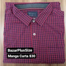 Camisa social PlusSize