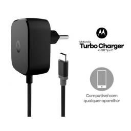 Título do anúncio: Carregador Motorola Tipo C 30w Turbo Power 30 Universal  Wpp: *