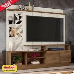 Título do anúncio: Home Theater Frade Vivaz  (Canela/Offwhite) p/TV até 62 Poleg.