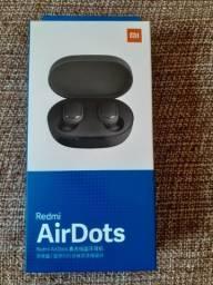 Redmi Airdoots original, na caixa, cor preta, com N F, leiam todo o anuncio.