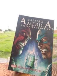 Livro capitão América desígnios sombrios