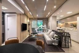 Apartamento com 3 dormitórios à venda, 112 m² por R$ 1.031.018,00 - Cabral - Curitiba/PR
