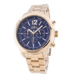 Relógio Invicta Aviator 28896 Banhado à Ouro - Luxo 100% Original