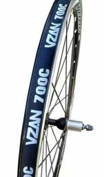 """Nova""Roda Speed Aro 700 Vzan Tour Road 8v A 11v Clincher (par)"