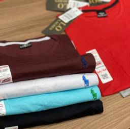 Título do anúncio: Camisas lisas diversas cores