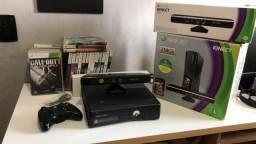 Xbox 360 250GB + Kinect + 36 Jogos