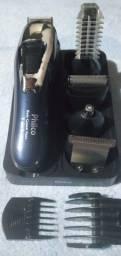 Aparador de Pelos Philco 7 em 1 Body Groom Aqua