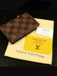 Carteira porta cartão Louis Vuitton LV