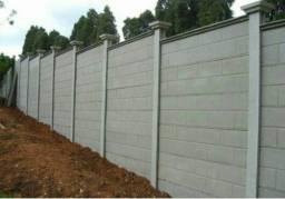 Título do anúncio: Muros pré-moldados