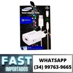 Título do anúncio: Carregador Motorola/Samsung Turbo 30w * Fazemos Entregas