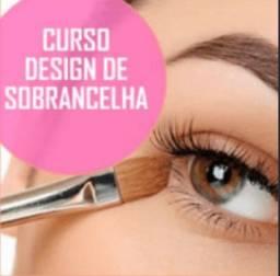 CURSO PROFISSIONALIZANTE DE DESIGNER DE SOBRANCELHAS
