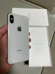 iPhone X 64G Silver / Aparelho em Ótimo Estado