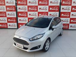 Ford New Fiesta SEL 2017 1.6 Powershift + GNV Único Dono