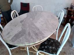 Mesa 5 cadeira só 250