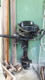 Barco + motor 8 HP