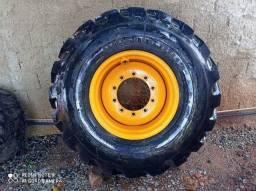 Roda traseira da Randon