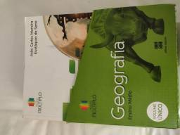 Box livros de geografia projeto múltiplo