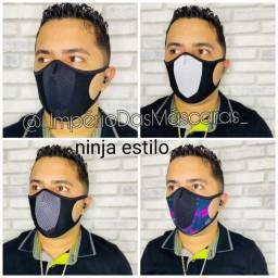 Máscara ninja Estilo