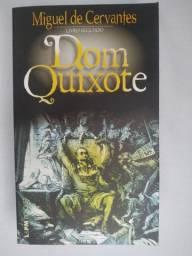 Dom Quixote Kit Com O Livro Primeiro E O Livro Segundo