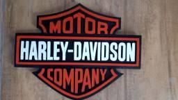 Placa Harley Davidson em Resina