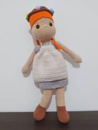 Boneca Russa Amigurumi