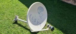 Antena com LNB 4 entradas