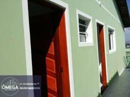 São 2 dormitórios, sala, cozinha, banheiro, área de serviço, casa em Itaquaquecetuba