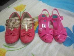 Sandalia e sapatinho