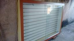 Vitrine de vidro luminosa com porta de vidro muito barata para sais rapido