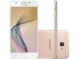 Smartphone Samsung Galaxy J5 Prime 32GB Dourado - Dual Chip 4G Câm. 13MP + Selfie 5MP
