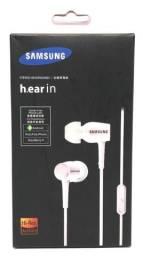 Fone de Ouvido Samsung Branco Novo na Caixa