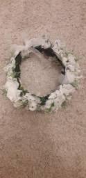 Tiara de flores venda ou troca