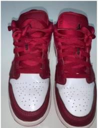 Nike 2020 Air Jordan 1 Low Noble Red