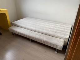 Box de solteiro com cama auxiliar Ortobom