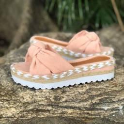 Sandália de laço