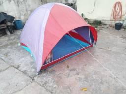 Barraca de Acampamento (Barracas Capri) + Mesa Camping Dobrável (Guepardo)