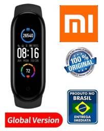 Xiaomi Mi Band 5 Versão Global em Portugês Smartwatch Pulseira 100% Original