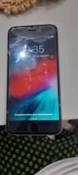 Iphone 6s com trinco na tela