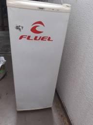 Freezer vertical+fritadeira 3 litros eletrica